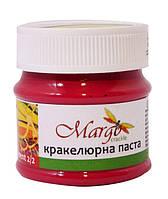 Кракелюрная паста, красная, компонент 2/2, 50 мл, Margo crackle, 67009749
