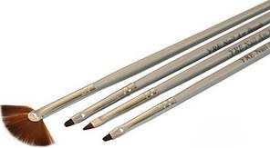 Набор кистей для геля и рисования на ногтях, 4 шт