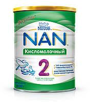 Смесь Nestle NAN Кисломолочный 2 с 6 месяцев 400 гр.