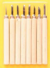 Набор резцов по дереву 8 штук D.K.ART & CRAFT 11513, 94161513