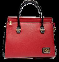 Прямоугольная женская сумочка Diary Klava красного цвета KCA-901144