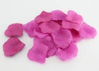 Искусственный лепесток розы, тканевой, сиреневый, 4*4 см, 13524