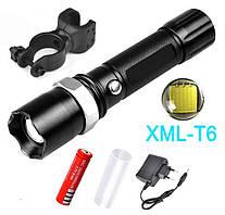 Велосипедный фонарик Bailong T8626 XML T6 30000W