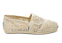 Женские TOMS Natural Crochet Women's Classics, фото 1