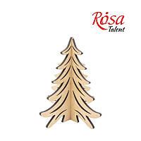 """Заготовка """"Ялинка лісова 3D"""", 18,5*19,5 см, МДФ, ROSA Talent, 4801483"""