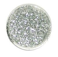 Блестки сухие, серебро, 0,4 мм, 7 грамм, JJCB01-64, Margo, 89010000