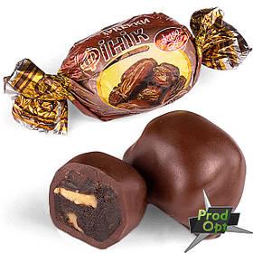 """FRUTTА Цукерки """"Фінік з волоським горіхом в шоколаді"""" 1 кг"""