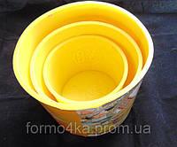 Набор силиконовых форм для пасхи 3шт, фото 1