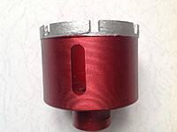 Коронка алмазная для керамогранита, бетона 65 мм