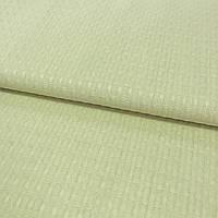 Вафельная ткань оливковая однотонная, ширина 150 см