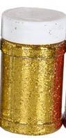 Блестки сухие, золото, 125 грамм, Pasco, 722442