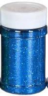 Блестки сухие, синие, 125 грамм, Pasco, 722473