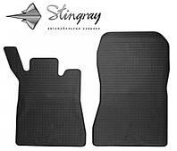 Автомобильные коврики Мерседес Бенц W203 C 2000 года- Комплект из 2-х ковриков Черный в салон. Доставка по всей Украине. Оплата при получении