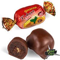 """FRUTTА Цукерки """"Курага з волоським горіхом в шоколаді"""""""