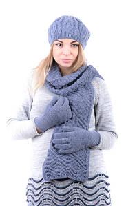 Вязаные шарфы женские