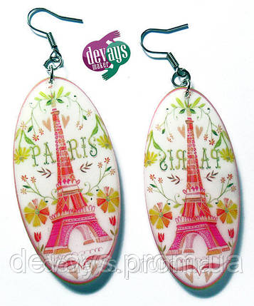Серёжки Весна в Париже, фото 2