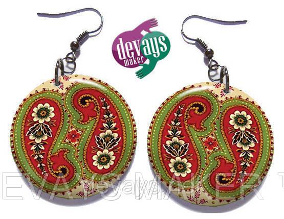 Серёжки Индийские Огурцы, фото 2
