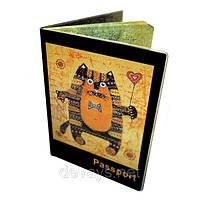 Обложка для паспорта Кошак