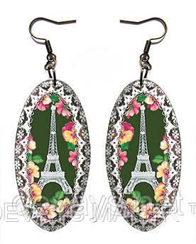 Серьги Париж в мае, фото 2