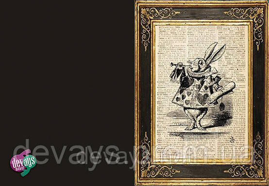 Обложка для паспорта Белый Кролик, фото 2