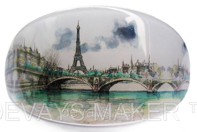 """Заколка для волос """"Париж"""", фото 2"""