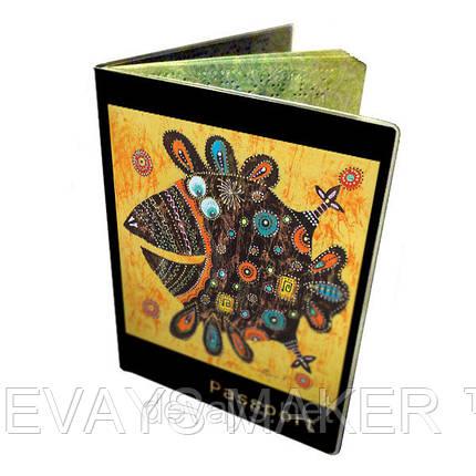 Обложка для паспорта Весёлая Ворона, фото 2