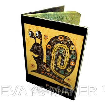 Обложка для паспорта Позитивная Улитка, фото 2