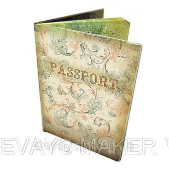 Обложка для паспорта Винтажный узор, фото 2