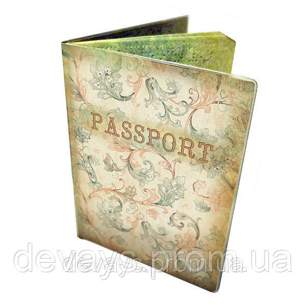 Обложка для паспорта Винтажный узор
