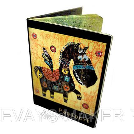 Обложка для паспорта Весёлый Пегас, фото 2