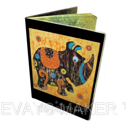 Обложка для паспорта Носорожик, фото 2