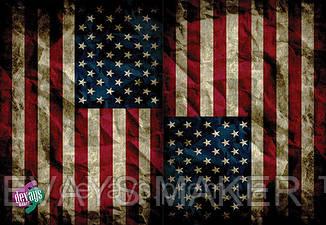 Обложка на паспорт кожаная USA, фото 2