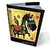 Обложка на паспорт кожаная Пегас
