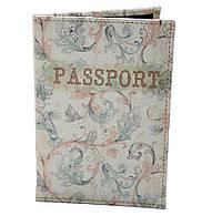 Обложка для паспорта из кожзама *Элегант*