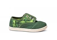 Детские TOMS Green Camo Tiny Classics, фото 1