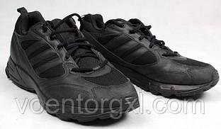 Тренировочные кроссовки Bundeswehr Adidas (черные). ВС Германии, оригинал.