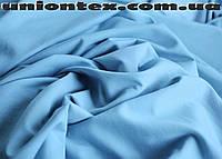 Футер двунитка голубой (от 5 метров)