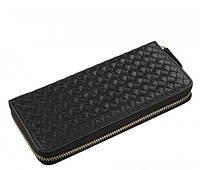 Кожаный кошелек TIDING BAG 8067A черный