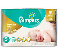 Подгузники Pampers Premium Care Размер 5 (Junior) 11-18 кг, 88 шт