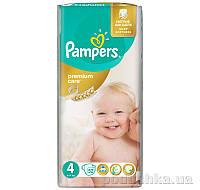 Подгузники Pampers Premium Care Размер 4 (Maxi) 8-14 кг, 52 шт