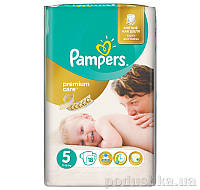Подгузники Pampers Premium Care Размер 5 (Junior) 11-18 кг, 18 шт