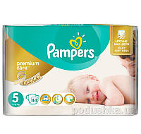 Подгузники Pampers Premium Care Размер 5 (Junior) 11-18 кг, 44 шт