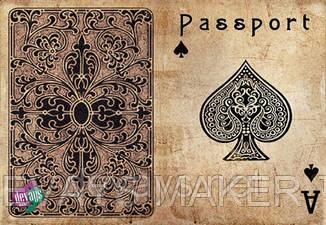Обложка на паспорт Пиковый Туз, фото 2