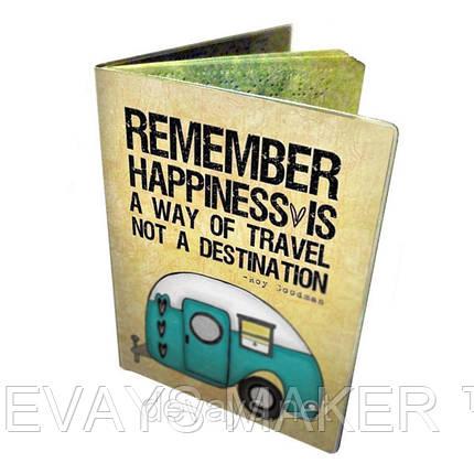Обложка для паспорта Счастье, фото 2