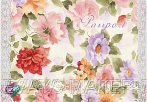 Обложка для паспорта Цветочный винтаж, фото 2