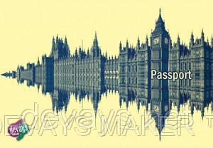 Обложка на паспорт Темза, фото 2