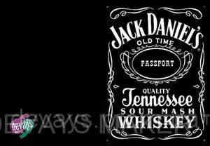 Обложка для паспорта Jack Daniels, фото 2