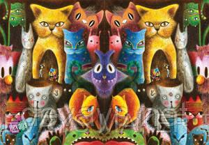 Обложка для паспорта Коты, фото 2