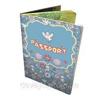 Обложка для паспорта Весенние трели
