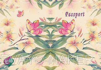 Обложка для паспорта Весенний букет, фото 2